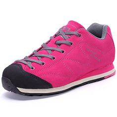 5eb0714264e61 The First Outdoor Womens Rose Red Women s Walking Shoes Shoe 75 US      Click image for more details.