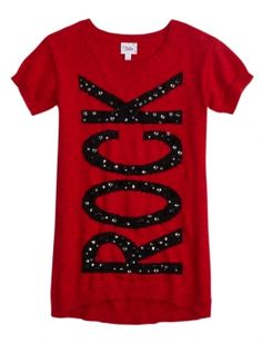 Embellished Sweater Tunic -Is it sad that I'd wear this and it comes from a store for little girls?