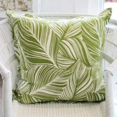 Green Leaf - 60 x 60 - Inside Out Home Boutique. Not in stock - Available for order online at www.insideouthb.co.za