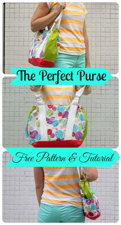 Free Purse Pattern and Tutorial {Sew-a-bration of Womanhood}