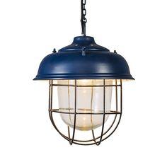 Hanglamp Poseidon blauw