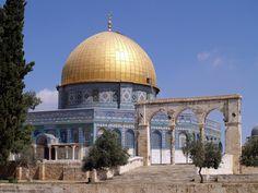 Trump's recognition of Jerusalem excites apocalyptic fervor Islamic Architecture, Art And Architecture, Israel, Dome Of The Rock, Ottoman Empire, Jerusalem, Islamic Art, Taj Mahal, Cool Stuff