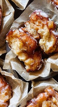 Glazed Apple Fritters