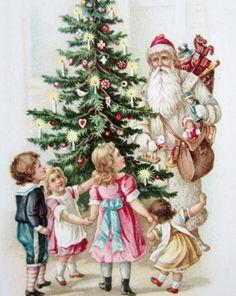 1000 bilder zu nostalgische weihnachtskarten auf - Vintage bilder kostenlos ...