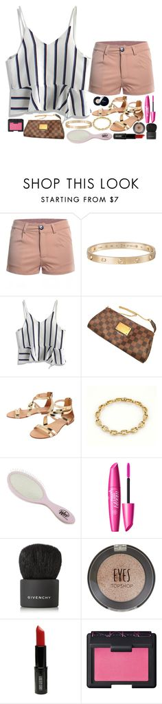 """""""Sin título #73"""" by nickythomen on Polyvore featuring moda, Cartier, Chicwish, Louis Vuitton, Cocobelle, Givenchy, Topshop, Lord & Berry, NARS Cosmetics y Christian Dior"""