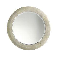 Baker Furniture Bill Sofield Alice Glass Round Mirror = $3235 at FLS