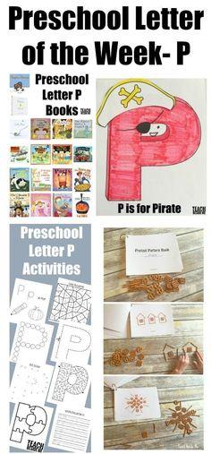Preschool Letter of
