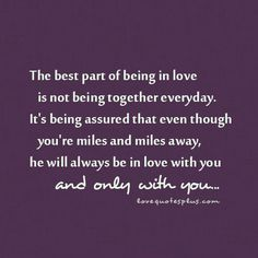 quotes about true love | Home » Picture Quotes » True Love » The best part of being in love ...
