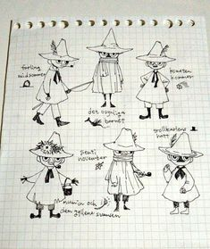 Vocaloid Characters, Moomin Valley, B Words, Unusual Art, Cat Dad, Sketchbook Inspiration, Cartoon Shows, Lettering Design, Drawing Reference