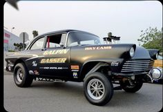 1956 Ford Gasser!  They just don't make them like this anymore!!! Wicked