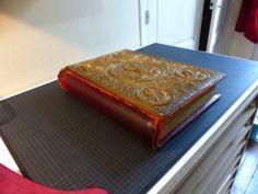 Restauration d'un Evangéliaire Byzantin – Vincent Collet artisan relieur à Paris