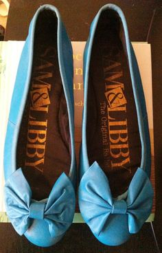 I had these in white & red!! Vintage 1980s Sam & Libby The Original Ballet Flats by lovekelsi, $15.00