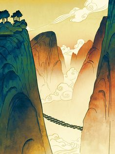Legend of Korra - Book 2 Backgrounds look at how beautiful this is.  They do their research and it clearly pays off every time