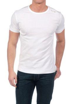 T-Shirt Uomo Gas (BO-SCUBA PIPING 4 0001) colore Bianco