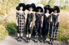 visual optimism; fashion editorials, shows, campaigns & more!: marie piovesan, ros georgiou, tatiana cotliar, magda laguinge and marte mei van haaster for marc jacobs f/w 12.13