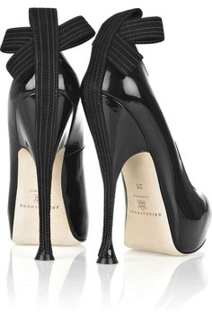 Cool Shoes Brian Atwood black heels 7564 |2013 Fashion High Heels|