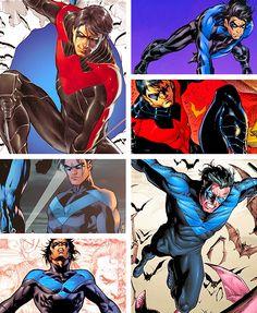 Nightwing Photoset