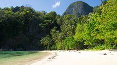 Paradise Beach auf Cadlao Island, El Nido (Palawan)