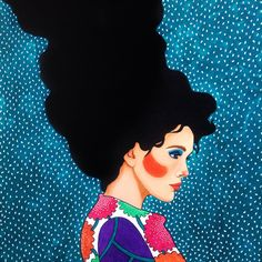 """for the exhibition: """"not some fairytales"""" (50x70cm acrylic on canvas) #acrylic #canvas #acrylicpainting #art #illustration #drawing #painting #picture #artist #sketch #kunst #maler #maleri #pen #pencil #artsy #instaart #pattern #portrait #instagood #gallery #creative #woman #photooftheday #instaartist #artoftheday #hülyaözdemir #theweekoninstagram"""