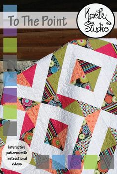 Free Pattern - 'To the Point' Quilt by Kaelly Studio