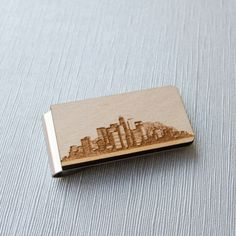 City skyline collection on money clips