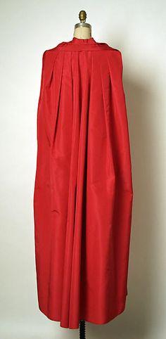 Evening coat, House of Balenciaga 1958-65, silk, The Met
