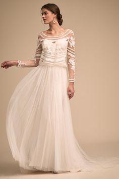 Ivory Novella Gown | BHLDN