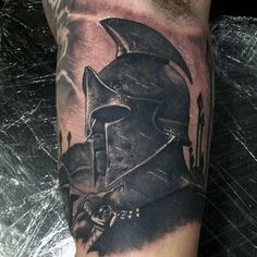 What does gladiator tattoo mean? We have gladiator tattoo ideas, designs, symbolism and we explain the meaning behind the tattoo. Tattoos 3d, Body Art Tattoos, Tattoos For Guys, Sleeve Tattoos, Gladiator Tattoo, Warrior Tattoos, Badass Tattoos, Sparta Tattoo, Knight Tattoo