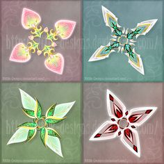 Shurikens adopts 5 (CLOSED) by Rittik-Designs
