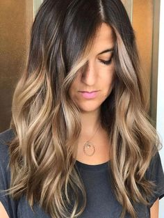 6 Great Balayage Short Hair Looks – Stylish Hairstyles Dark Ombre Hair, Best Ombre Hair, Ombre Hair Color, Cool Hair Color, Hair Colour, Hair Lights, Light Hair, Brunette Color, Brunette To Blonde
