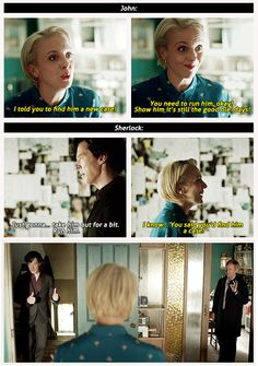 Can we talk about how Mary basically plays them both and sets them up on a case-solving date because she is a sneaky, fantastic genius? <-- Yes, yes we can. ;)
