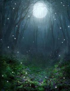 """PatrickMcEvoy """"Magical Forest"""" Сароджини Найду """"ПЕСНЯ О СНЕ"""" """"Однажды бывала я в грёзах ночных, Стояла одна в свете таинств лесных, Душа, словно в мак, пала в образы ниц; Дух Правды витал в звонком пении птиц"""""""