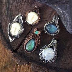 I haven't been able to create much lately as I ready all the things for this weekends show, but I finally got around to antiquing this handful of treasure ☺These beauties aren't listed in the shop but if you're feeling drawn to something let me know