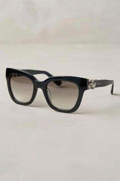 82a8c3b8bf1 Jimmy Choo Maggie Sunglasses - anthropologie.com  anthrofave  JimmyChoo  Wearing Glasses