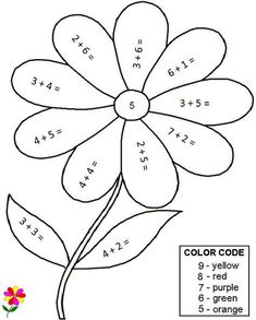 Spring Math Coloring Sheets Luxury Quality Pre Made Math Worksheets Color by Number Math Coloring Worksheets, First Grade Math Worksheets, 1st Grade Math, Kindergarten Worksheets, Math Activities, Number Worksheets, Math Addition Worksheets, Subtraction Kindergarten, Free Math Worksheets