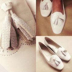 Tassel-Loafer in beige, super bequem und ein Klassiker der in jeden Schuhschrank gehört