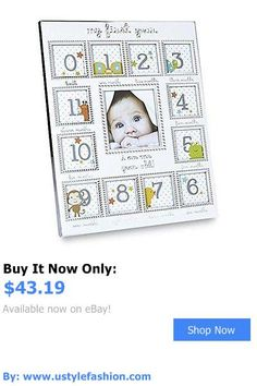 Baby Picture Frames: My First Year Frame BUY IT NOW ONLY: $43.19 #ustylefashionBabyPictureFrames OR #ustylefashion