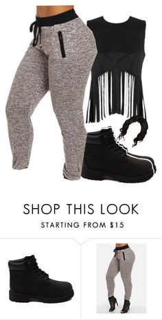 """""""~blackout~"""" by kinginnnn ❤ liked on Polyvore featuring мода и Timberland"""