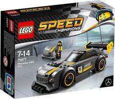 #LEGO Speed Champions #Mercedes AMG GT3 (75877) - http://www.thebrickfan.com/lego-speed-champions-winter-2017-official-box-art-images/