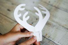 How to Make a Reindeer Pop up Card (Robert Sabuda Method)