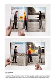 DHL - turn your page