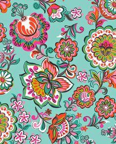 print & pattern: NEW FABRICS - josephine kimberling - Sarah Ehlinger Textile Patterns, Flower Patterns, Print Patterns, Illustration Blume, Pattern Illustration, Surface Pattern Design, Pattern Art, Paisley Pattern, Motif Floral