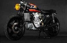 ϟ Hell Kustom ϟ: Honda CX500 By Hageman Motorcycles