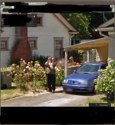 Definitely not a google street view fan…