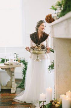 Winter Wedding Decor | photography by http://jacquelynnphoto.com/