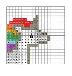 free printable unicorn cross stitch patterns - Google Search