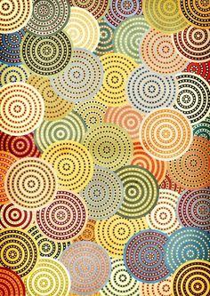 Pattern Design - Circular pattern by Danny Ivan - CoDesign Magazine Geometric Patterns, Color Patterns, Pretty Patterns, Graphic Patterns, Painting Patterns, Motifs Textiles, Textile Patterns, Textile Design, Circular Pattern