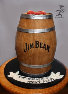 Jim Beam Cake Designs
