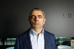 AUSTRALASIA OUT British actor Rowan Atkinson poses during a portrait session to promote his new film Johnny English on September 5 2011 in Sydney. Johnny English, Blackadder, Mr Bean, Celebrity Portraits, British Actors, Rowan, Celine, Sydney, September
