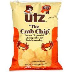 Utz Crab Chips, 10.5 oz